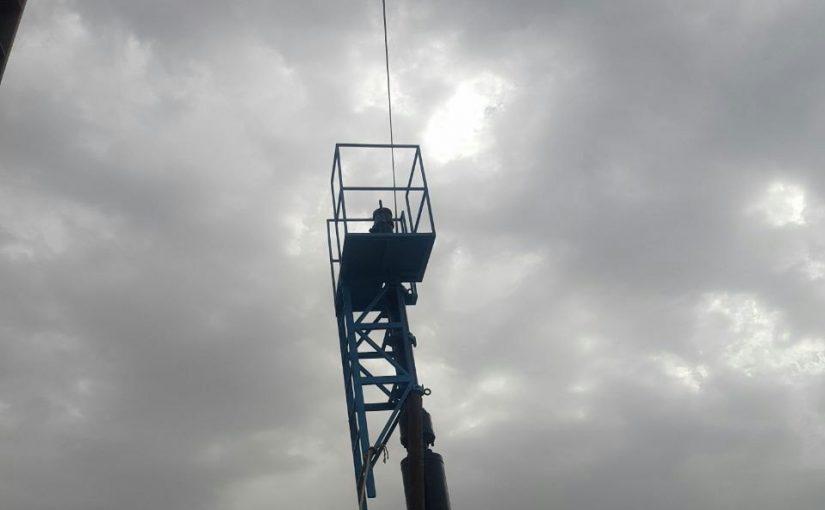 عملیات هات تپ در پالایشگاه ستاره نفت بندرعباس
