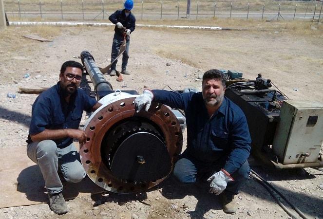 هات تپ لوله گاز در عراق